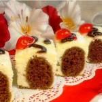 десерт из творога, фото