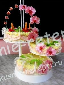 необычный свадебный торт, фото