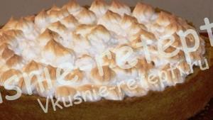 пирог с яблоками, фото
