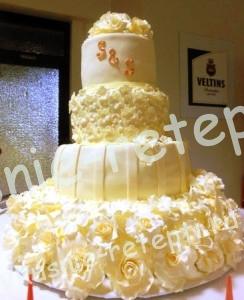 свадебный торт на заказ, фото