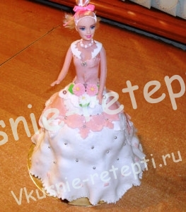 торт барби, фото