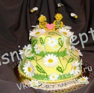 торт на годовщину