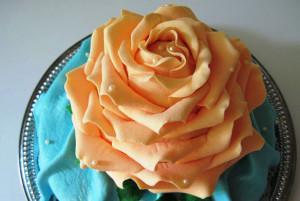 торт роза, фото