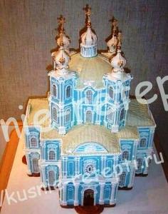 торт церковь