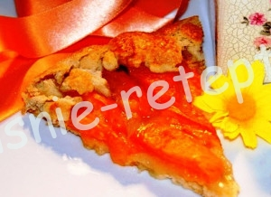 пирог с абрикосами рецепт, фото