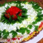 салат с тунцом, фото
