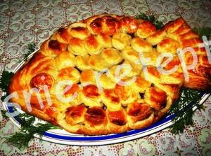 слоеный пирог, фото