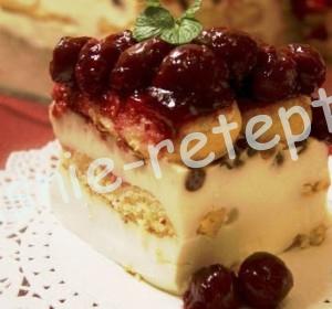 торт с вишней, фото