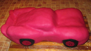 торт машина, фото