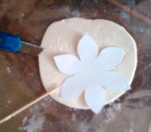 нарцисс из мастики фото