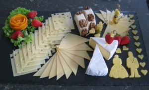 сырная тарелка оформление