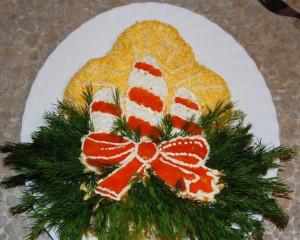 праздничный салат фото