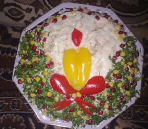 праздничный салат рецепт с фото