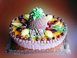 торт ананас фото
