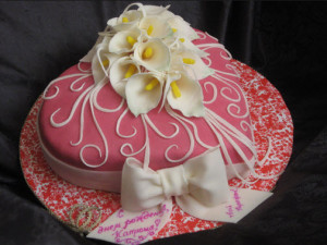 торт Каллы фото