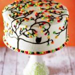 торт осень фото