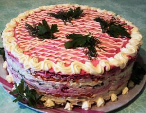 салат селедка под шубой рецепт с фото