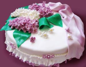 торт Сирень фото