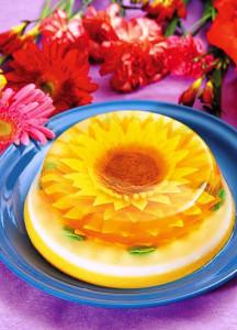 3 d цветы в  желе фото