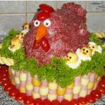 бутербродный торт рецепт