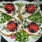 Оригинальные бутерброды