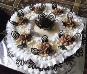 торт с орехами фото