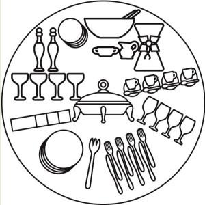 сервировка шведского стола фото