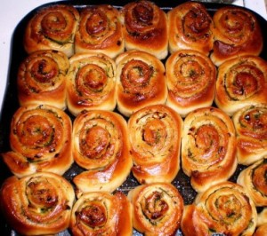 Чесночные булочки фото