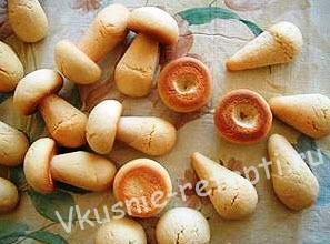 грибы из теста фото