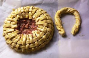пирог в форме корзинки фото