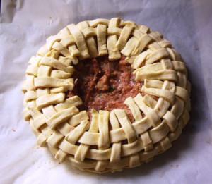 пирог в виде корзинки фото