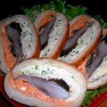 бутерброды с селедкой фото