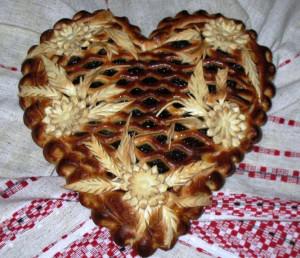 пирог в форме сердца рецепт с фото