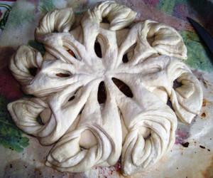 украшение пирога фото