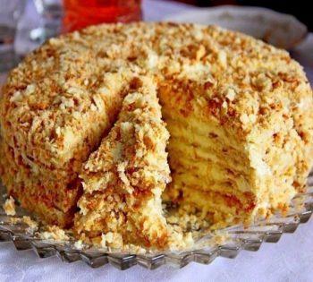 Самый вкусный торт «Светлана» без выпечки