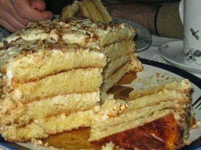 samii prostoi i nejnii tort lakomka foto
