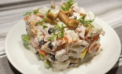 Пикантный салат «Изюминка»
