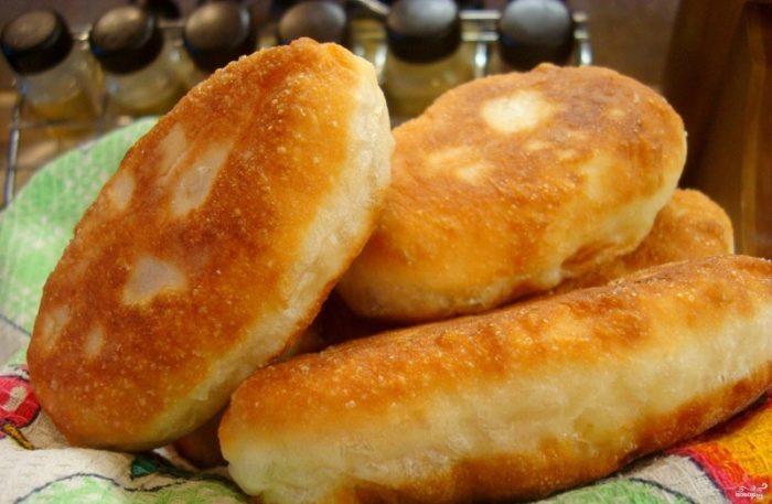 От этих пирожков не потолстеешь! Этот рецепт люблю за его простоту и быстроту приготовления!