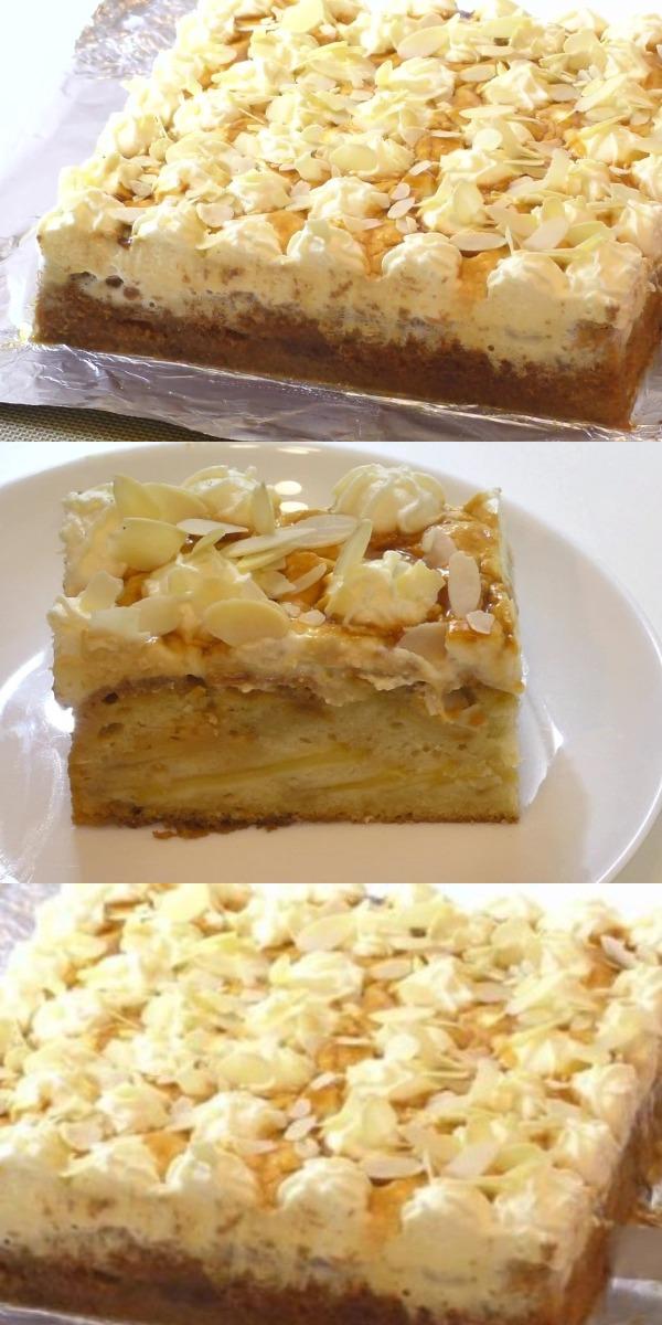Этот пирог один из моих фаворитов среди яблочной выпечки!