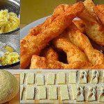 Всем советую приготовить такой шикарный хворост из картофеля — никто не пожалеет!