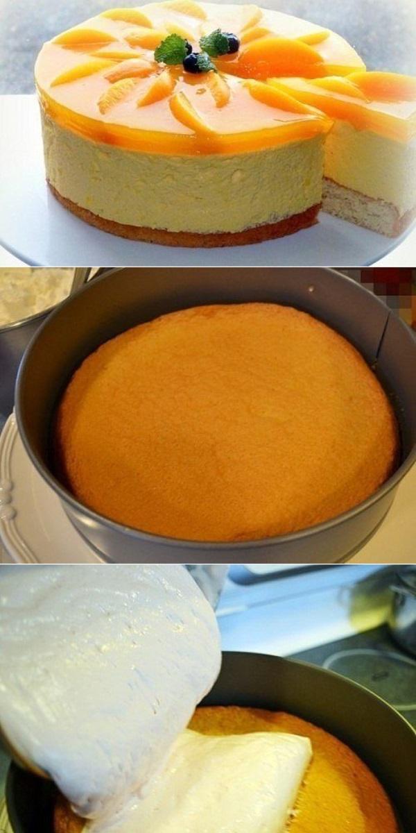 Нежный, лёгкий, малокалорийный торт – это торт-суфле.