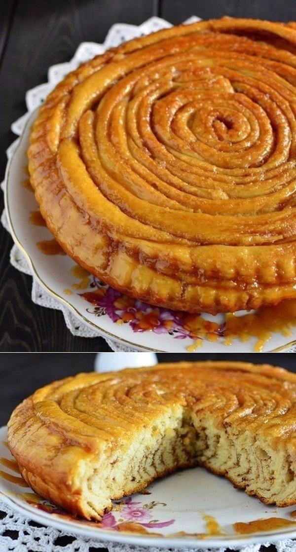 Шотландский спиральный пирог. Готовлю уже 3 дня и совсем не надоел!