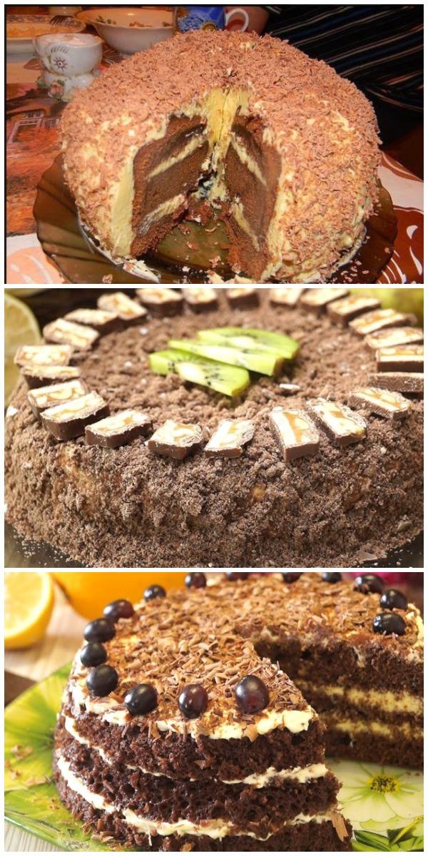 Потрясающий рецепт торта «Лентяй». Достойный конкурент «Медовик»
